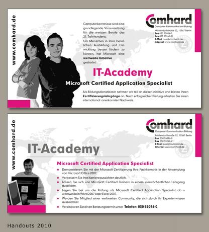 Handout für die IT-Academy
