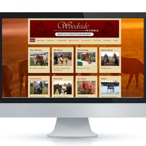 Webseite von Woodside Stable - Referenz Webagentur Berlin